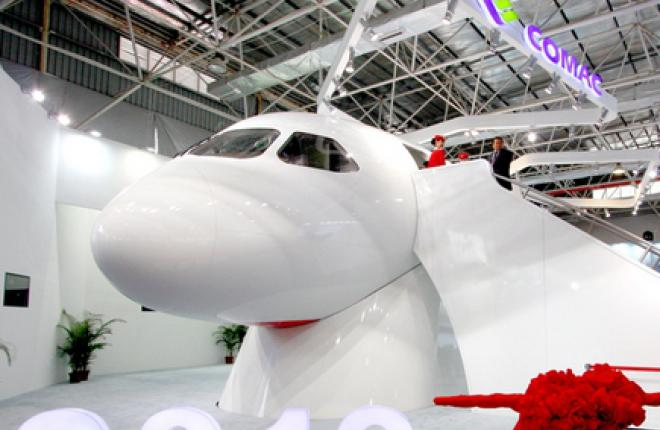 Китайский авиалайнер C919 получит сертификат в конце 2017 г.