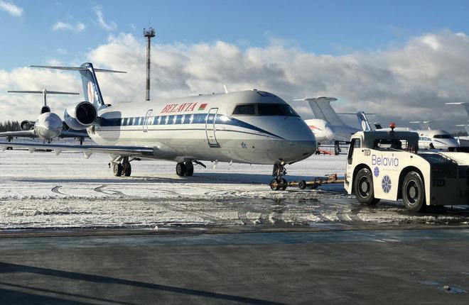 "CRJ100 авиакомпании ""Белавиа"""