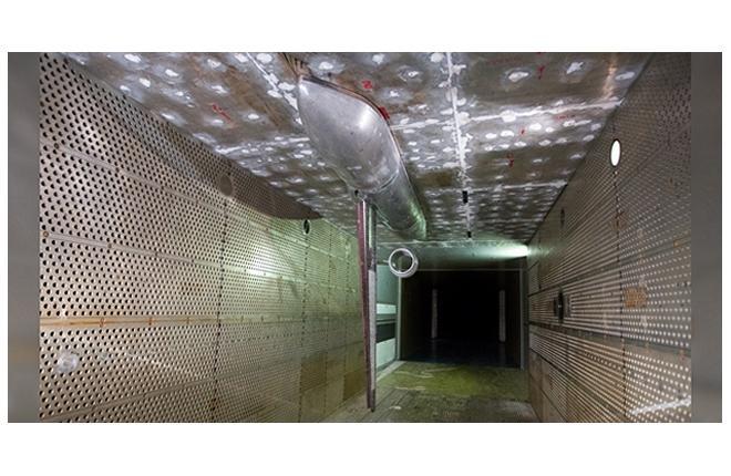 ЦАГИ - исследование крупномасштабной полумодели перспективного малошумного ближнемагистрального самолета БМС