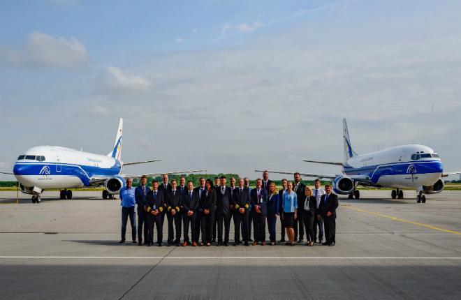 Коллектив и самолеты Cargologic Germany