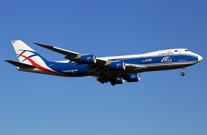 Самолет Boeing 747-8F авиакомпании CargoLogicAir