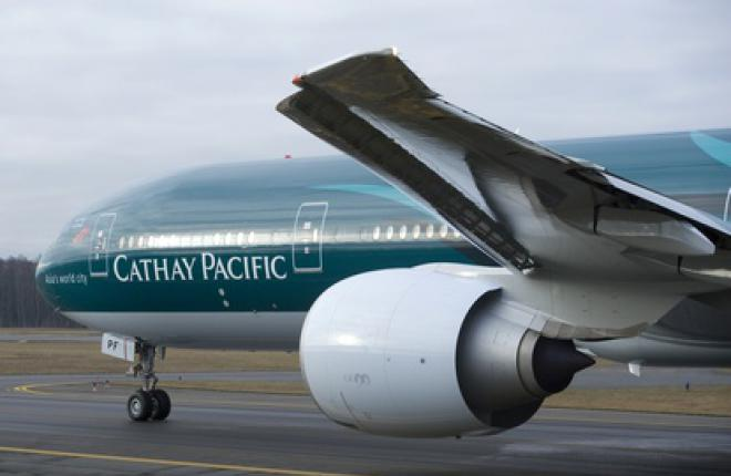 Авиакомпания Cathay Pacific заказала 12 самолетов Boeing 777
