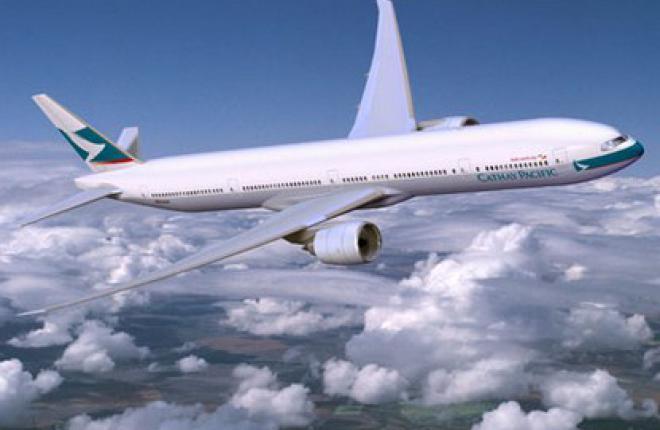 Прибыль Cathay Pacific в 2011 г. сократилась в 2,5 раза