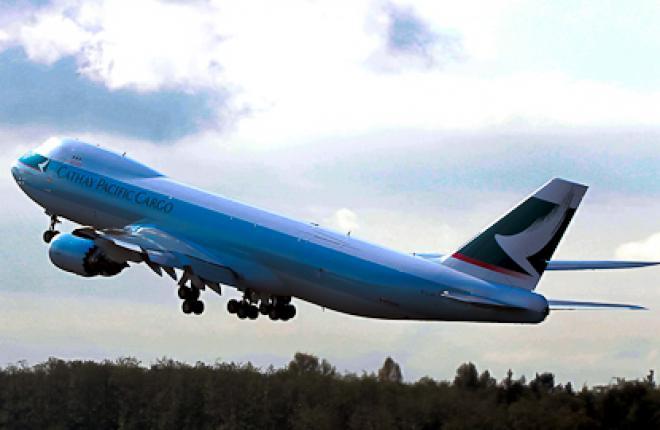 Cathay Pacific заказывает дополнительные Boeing 747-8F
