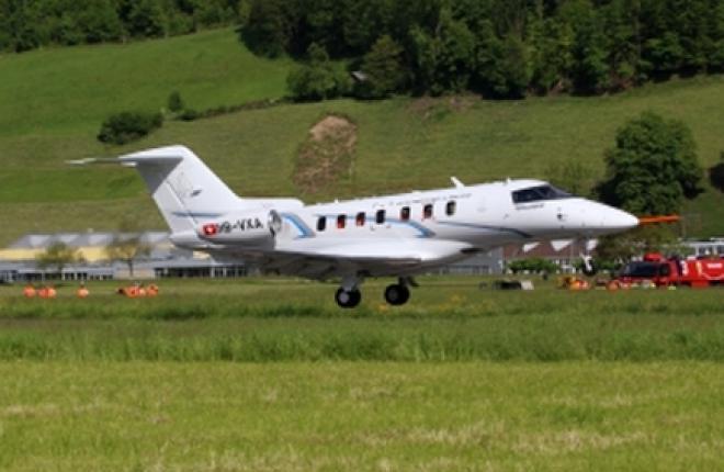 Прототип легкого бизнес-джета PC-24 совершил первый полет