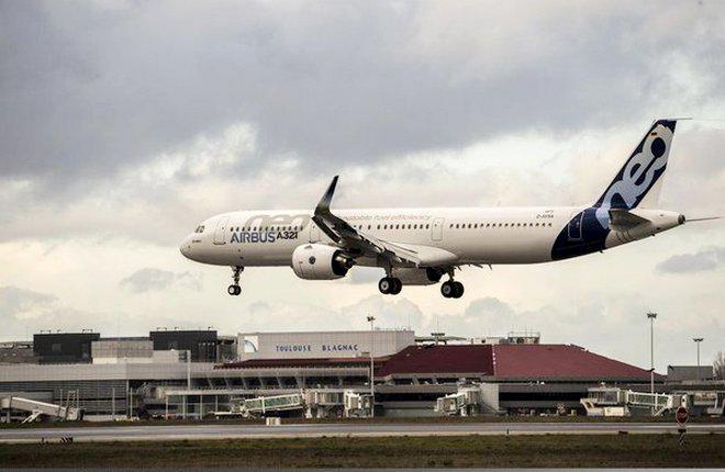 Прототип A321neo c двигателями Pratt & Whitney приступил к летным испытаниям