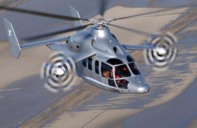 Прототип высокоскоростного вертолета X3 от Eurocopter