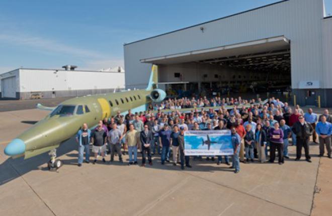 Cessna Aircraft начала производство обновленной версии самолета Citation Soverei