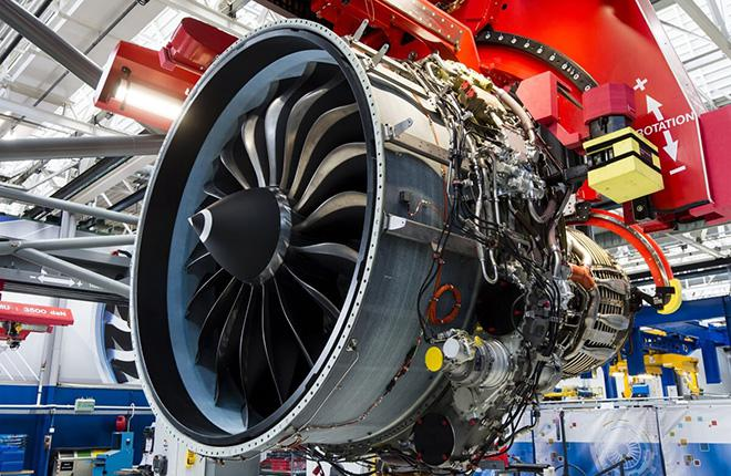 Сборка двигателя CFM International LEAP-1A