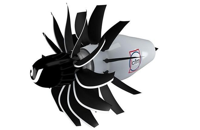 двигатель с открытым ротором CFM винтовентиляторный двигатель проект RISE