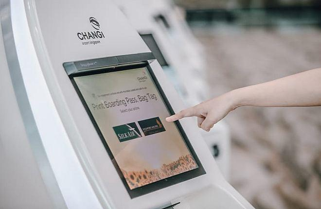 Changi Airport contacless