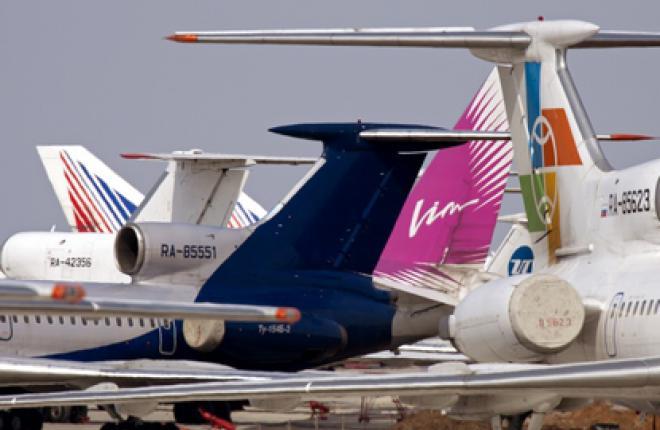 Российские авиакомпании за семь месяцев 2011 г. перевезли почти 35 млн пас.