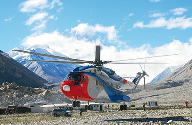 Avicopter активно работает над вертолетом AC313, создаваемым на основе Super Frelon
