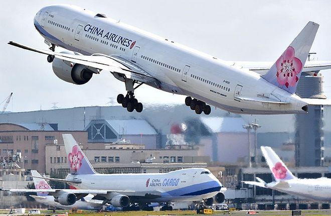 самолеты тайваньской авиакомпании China Airlines