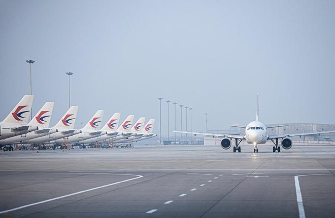 самолеты китайской авиакомпании China Eastern Airlines