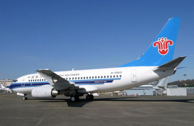 China Southern Airlines заказала 80 самолетов Boeing 737