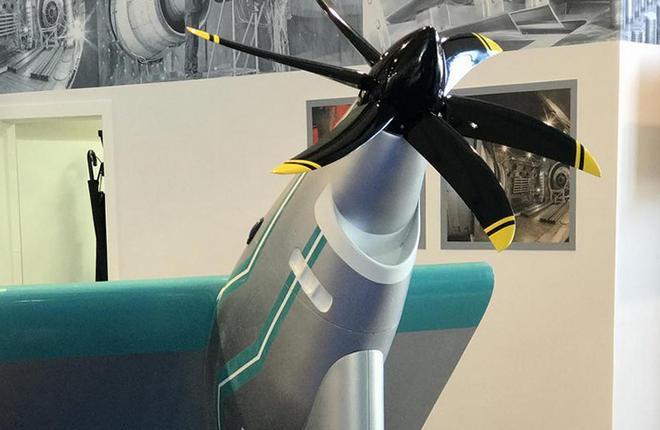Макет демонстратора гибридно-электрической силовой установки