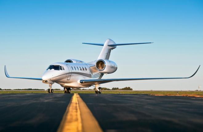 Бизнес джет Cessna Citation X - самый скоростной серийный гражданский самолет