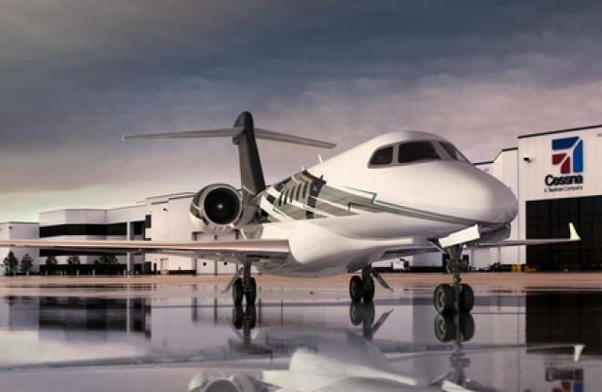 Textron поменяет спецификации бизнес-джета Cessna Citation Longitude