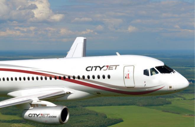 CityJet сдаст первые SSJ 100 в мокрый лизинг