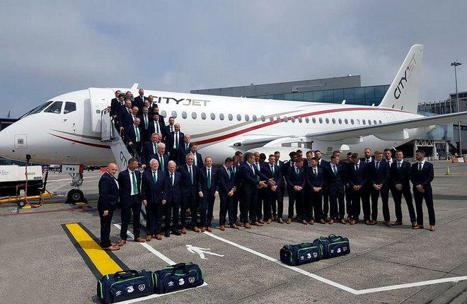 Авиакомпания CityJet ввела в эксплуатацию первый SSJ 100