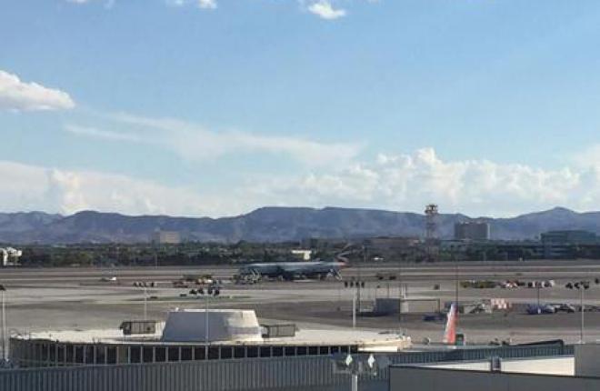 В аэропорту Лас-Вегаса загорелся самолет Boeing 777 British Airways