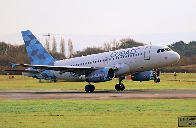 Самолет авиакомпании Cobalt Air