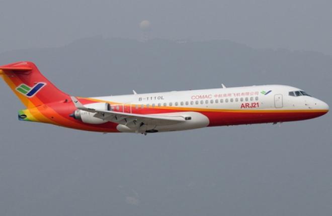COMAC модернизует самолет ARJ21 сразу после сертификации
