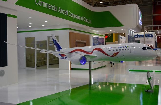Модель самолета CR929