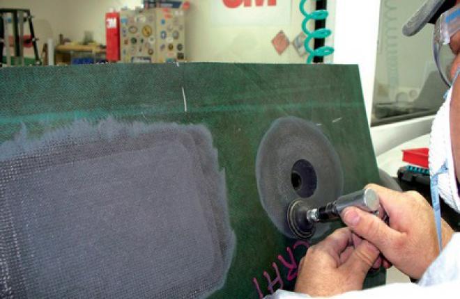 Восстановление сотовых композитных конструкций требует высокой квалификации: мал