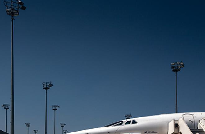 Сверхзвуковой самолет Конкорд Concorde