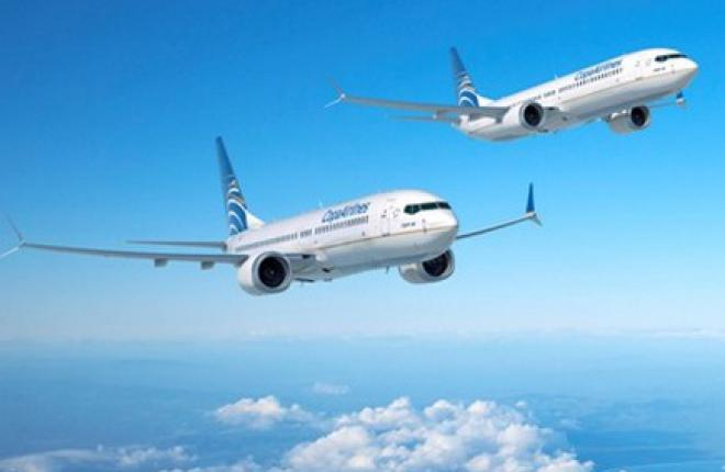 Панамская авиакомпания Copa Airlines заказала 61 самолет Boeing 737MAX