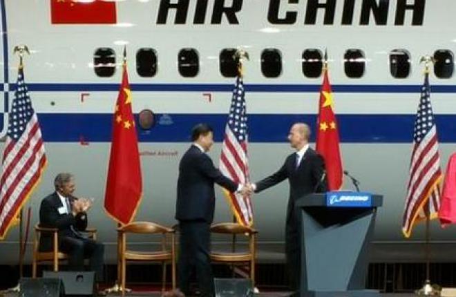 Boeing получил заказ на 300 самолетов из Китая