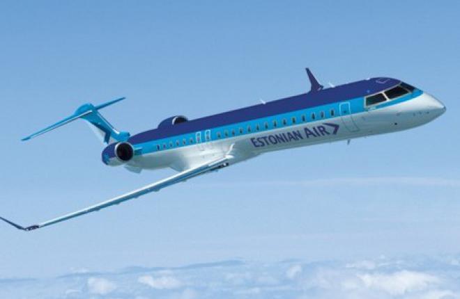 Estonian Air получила первый региональный самолет CRJ700