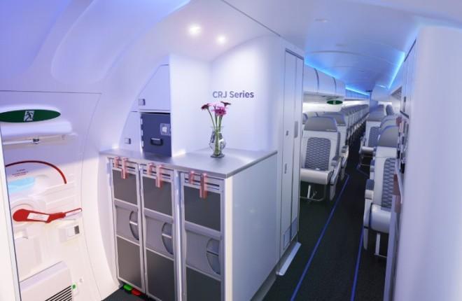 CRJ Series с салоном Atmosphere