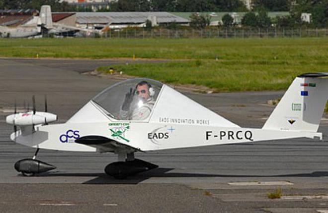 Чистая прибыль EADS в 2011 году составила 1,03 млрд евро