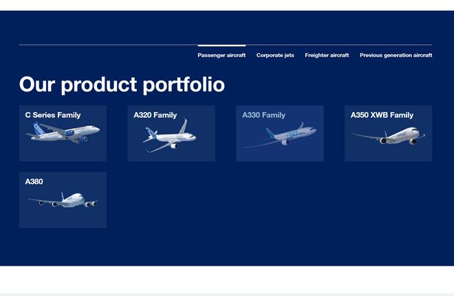 Airbus получил контроль над программой самолетов Bombardier CSeries