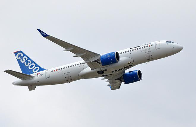 Pratt & Whitney сорвала план поставок CSeries