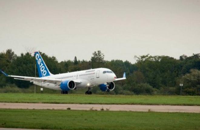 Первый полет самолета Bombardier CSeries будет выполнен сегодня