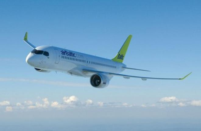 Авиакомпания airBaltic заказала еще три самолета CSeries
