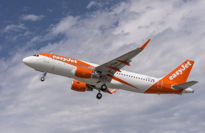 Авиакомпания EasyJet заказала 36 самолетов семейства А320