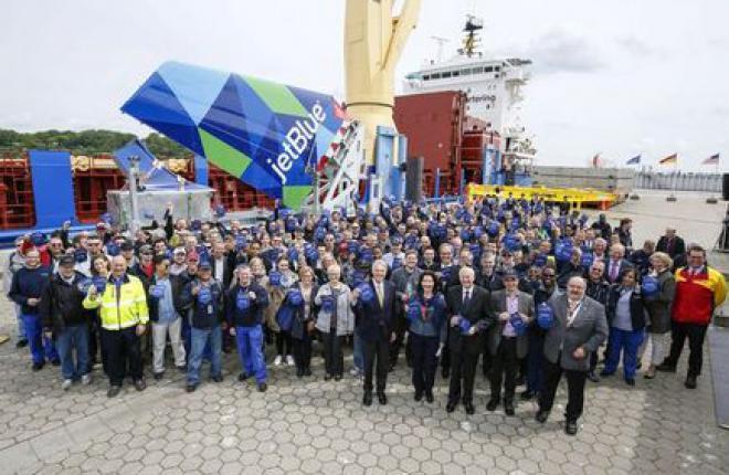 Компания Airbus открыла сборочный завод в США