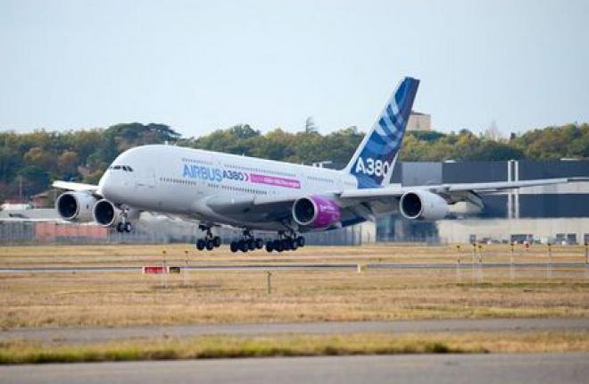 В Тулузе начались летные испытания двигателя Trent XWB-97 для A350-1000