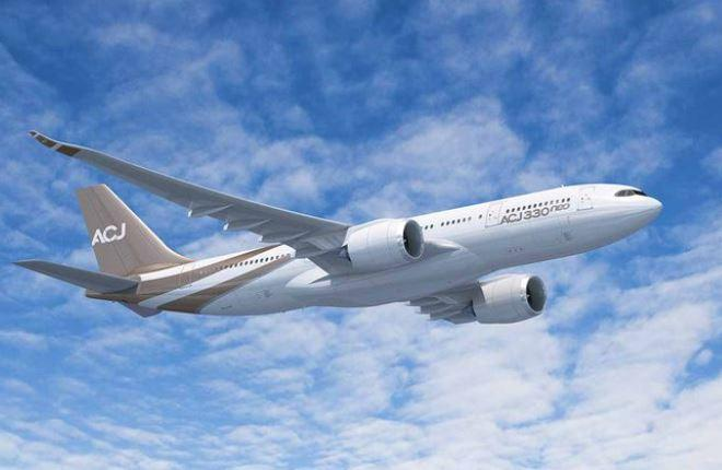 Airbus анонсировал создание бизнес-джета ACJ330neo