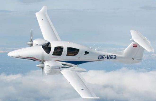 Diamond Aircraft анонсировала сертификацию самолета DA62