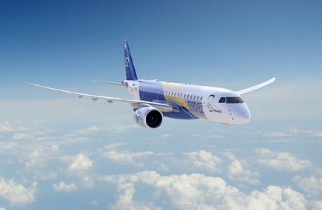 Embraer назвал дату выкатки прототипа самолета E190-E2