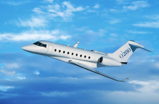 Новая авионика улучшит xарактеристики бизнес-джета Gulfstream G280