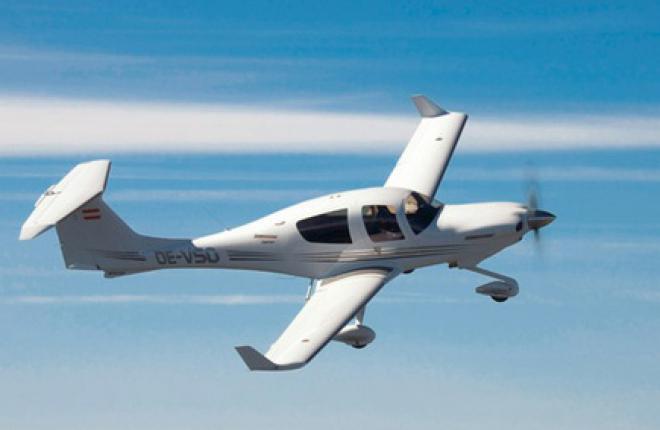 Diamond Aircraft выпустит новый самолет с украинским двигателем