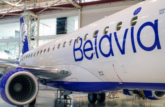 """Embraer Е175 авиакомпании """"Белавиа"""""""