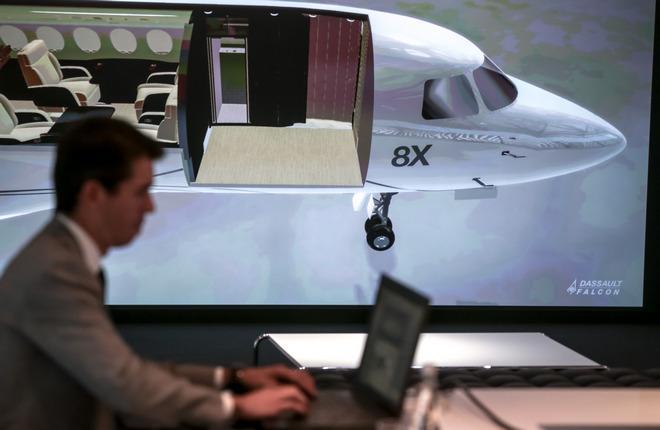 Клиентский центр Dassault Aviation в аэропорту Ле-Бурже